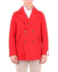 Cruna Coat Men Red