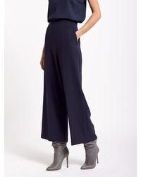 Beatrice B. Navy Culottes - Pink
