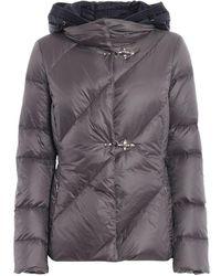 Fay Down Coat - Gray