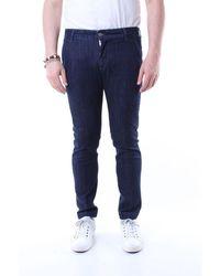 Entre Amis Jeans Slim Dark - Blue