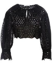 Vivetta Cotton Shirt - Black