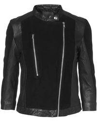 Minimum Babette Leather Jacket - Black