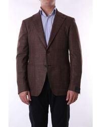 Tagliatore - Jackets Blazer Men Brown - Lyst
