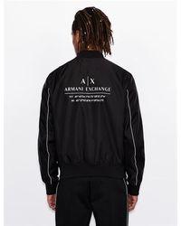 Armani Exchange Bomber - Black