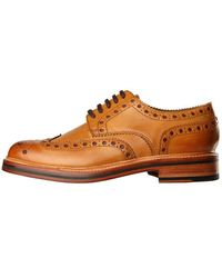 Grenson Archie Brogues - Tan - Brown