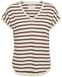 Part Two Signe Brown Stripe Knit