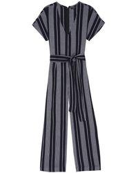 Rails Angela Jumpsuit - Mediterranean Stripe - Black