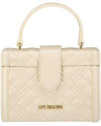 Love Moschino Womens Box Bag - Pink