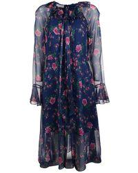 Philosophy Polyester Dress - Blue
