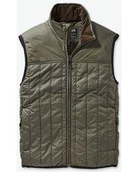 Filson Ultralight Vest - Olive - Gray