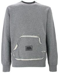 Golden Goose Deluxe Brand Men's Gmp00474p00020760267 Gray Cotton Sweatshirt