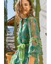 Miss June Shaniya Dress - Green