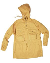 Nigel Cabourn Track Smock Yellow