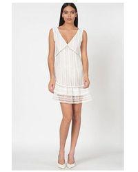 Guess Leandra Dress Colour: White