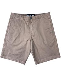 Replay Garment Dyed Twill Shorts - Multicolour