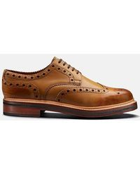 Grenson Archie Shoes (calf Leather) - Tan - Brown