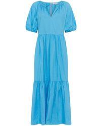 Great Plains Crisp Cotton Dress , Title:aegeanblu - Blue
