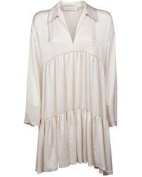 Philosophy Polyester Dress - White