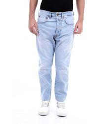 People Jeans Skinny Men Light Jeans - Blue