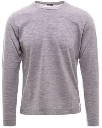 Zanone Virgin Wool T-shirt - Gray
