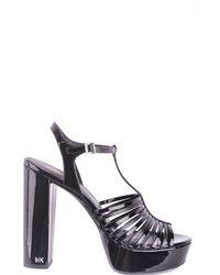 MICHAEL Michael Kors Platform Sandals In Black