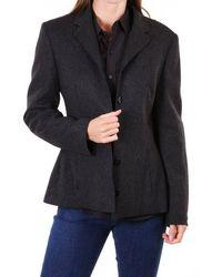 Dolce & Gabbana D&g 5 Button Wool Jacket - Black