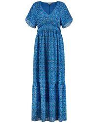 POM Amsterdam Sprinkles Dress - Blue