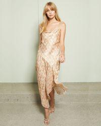 Bec & Bridge Anaconda Slip Dress - Natural
