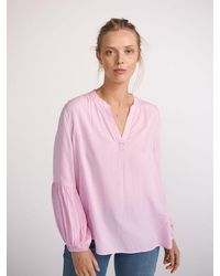 Nrby Amy Viscose Fluted Sleeve Shirt - Pink