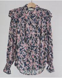 Berenice Carlie Shirt - Blue