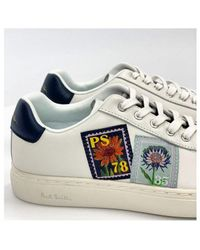 Paul Smith Lapin Stamp Detail Trainer - White