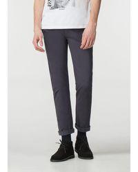 Ben Sherman Dark Navy Stretch Skinny Chino Pants - Blue