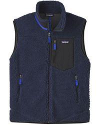 Patagonia Classic Retro-x Fleece Vest New Navy - Blue