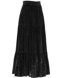 Gianluca Capannolo Polyester Skirt - Black