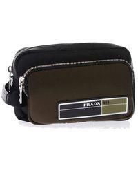 Prada Polyester Beauty Case - Black