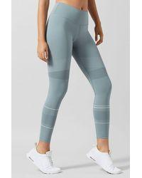 Lilybod Madison Contrast Mesh legging - Sorbet Green