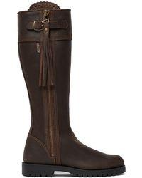 Penelope Chilvers Ladies Standard Tassel Boot - Brown