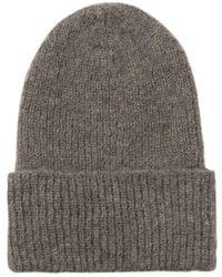 Becksöndergaard Beck Sondergaard Jadia Brown Beanie Hat