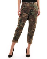 Polo Ralph Lauren Womens Cargo Pant - Brown