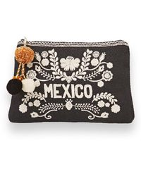 Star Mela - Mexico Embroidered Clutch - Lyst