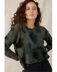 Bella Dahl Slouchy Sweater - Green