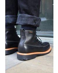 G.H.BASS - Gh Quail Hunter Mid Lace Black Boots - Lyst