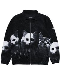RIPNDIP - Rip N Dip Field Of Cats Sherpa Jacket - Lyst