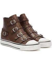 Ash Virgin Leather Sneakers - Brown