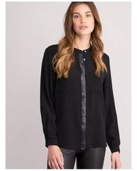 Repeat Cashmere Repeat 600278 Shirt In - Black