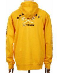 Dark Seas Headmaster Hooded Sweatshirt - Gold Medium, - Multicolour
