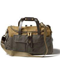 Filson Heritage Sportsman Bag Tan / Otter Green