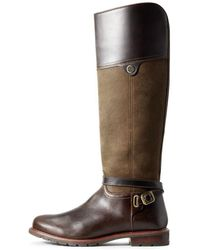 Ariat Ladies Carden H2o Boots - Brown