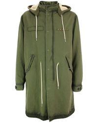 Golden Goose Deluxe Brand Coat Abramo - Green