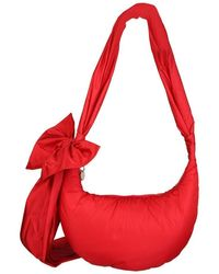 RED Valentino - Women's Vq2b0c44baal58 Red Other Materials Shoulder Bag - Lyst